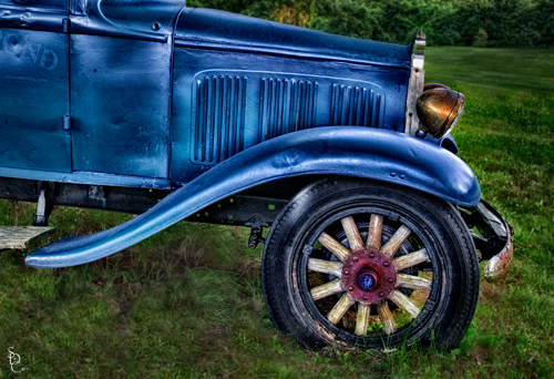 Antique Car HDR