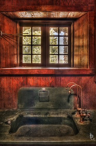 Kitchen Sink - Gillette Castle HDR Workshop - ©2011 Susan Candelario SDC Photography