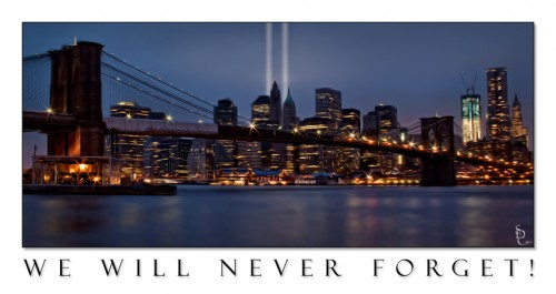 WTC 911 Tribute in Lights