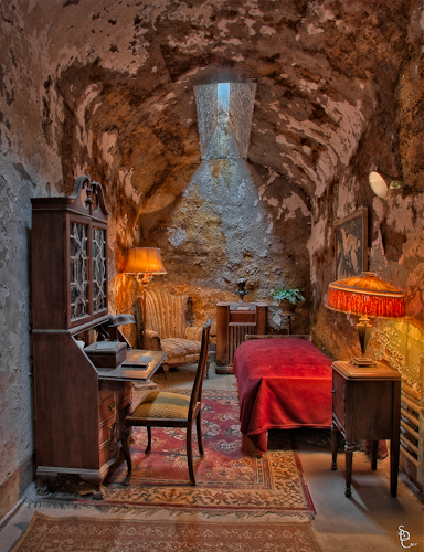 "Al Capone ""Scarface"" Cell at Eastern State Penitentiary"