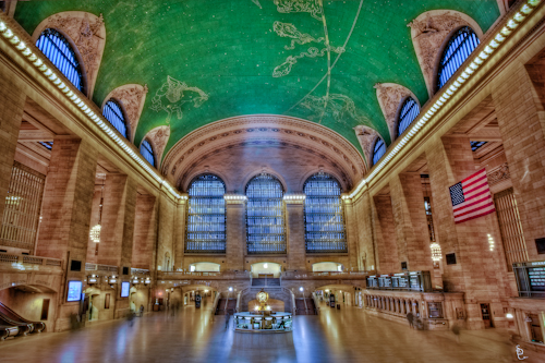 Main Concourse at the NYC Grand Central Station Terminal
