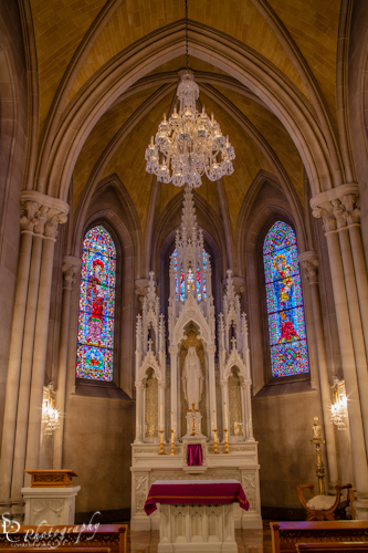 Lady Chapel at the Sacred Heart Cathedral