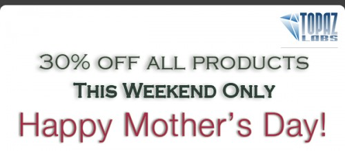 Topaz labs Mothers Day Weekend Sale