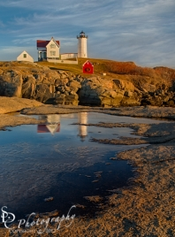 Reflecting On Nubble Lighthouse