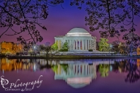 Twilight At The Thomas Jefferson Memorial