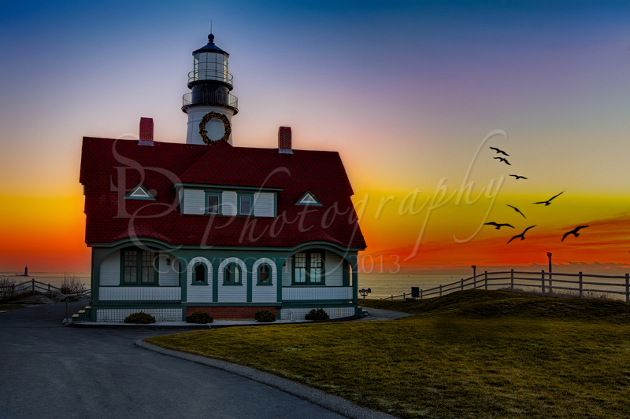A New Day At Portland Head Light