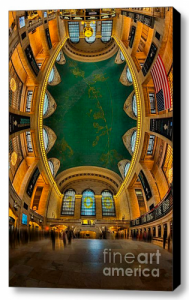 Gallery Wrap Canvas print of Grand Central Terminal