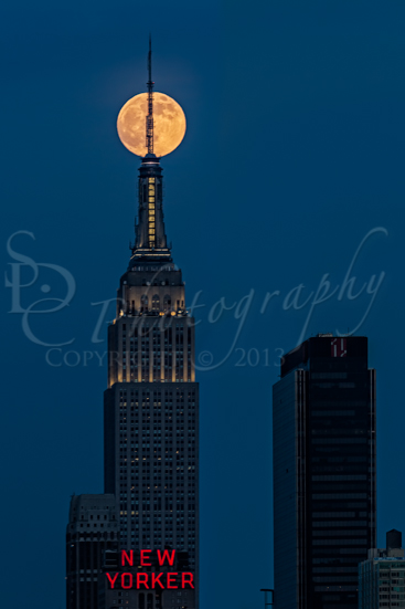 Super Moon In An Empire State Of Mind
