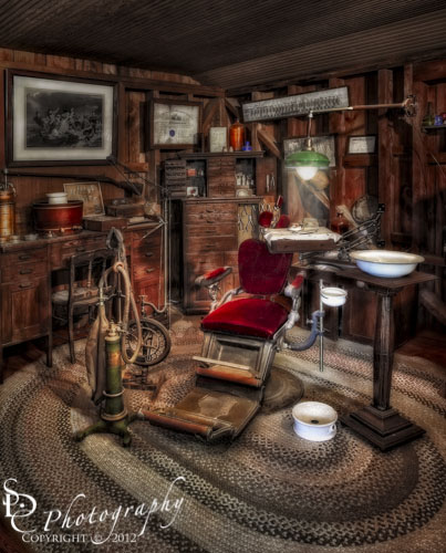 Old Fashioned Dentist Office ~
