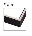 Gallery Canvas Wrap Frame Option