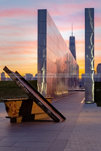 Dawn At The Empty Sky Memorial