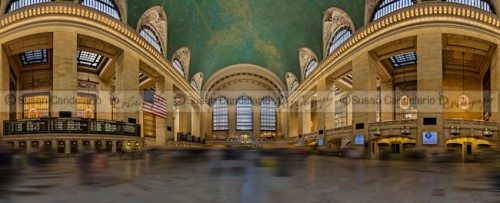 Grand Central Terminal 180 Panorama