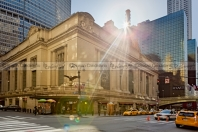 Sunsire Over Grand Central Terminal