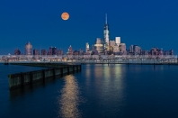 World Trade Center Super Moon