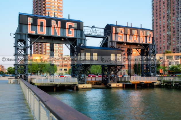 Long Island City LIC Gantry Park