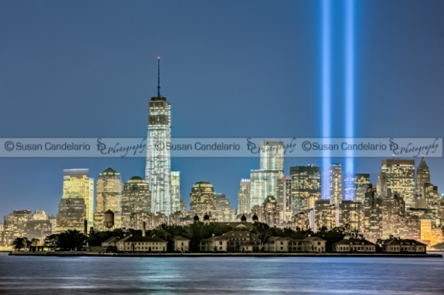 World Trade Center 911 Tribute In Lights