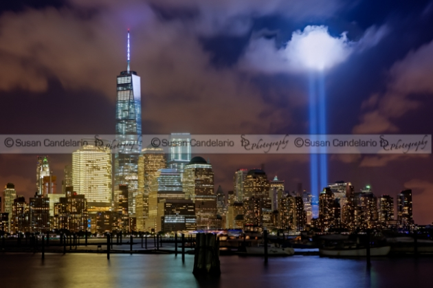 WTC Tribute In Lights NYC