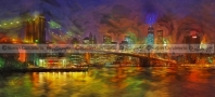 Brooklyn Bridge Impressionism NYC
