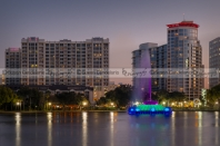 Lake Eola Memorial Water Fountain