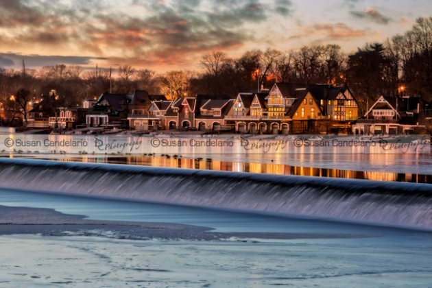 Boathouse Row Philadelphia PA