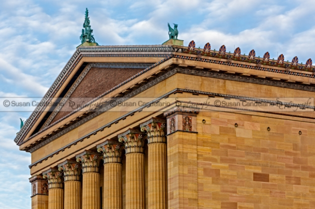Philadelphia Museum Of Art Column Details