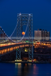 George Washington Bridge Full Moonrise