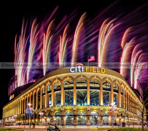 New York Mets Citi Field Fireworks