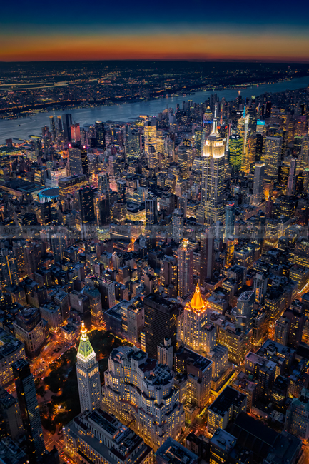 Manhattan New York City From Above