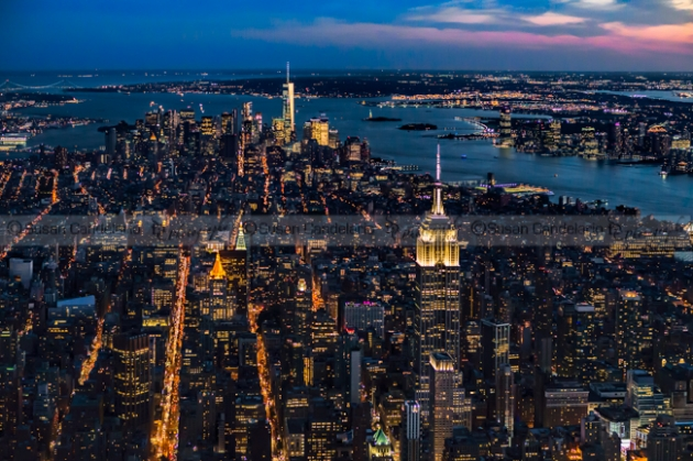 New York City View From The Sky