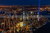 911 Tribute In Light In NYC
