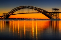 Bayonne Bridge Sunset