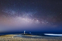 NJ Shore Milky Way Rising