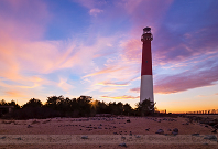 Barnegat Bay Light Sunset