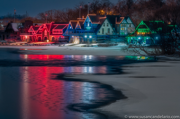 Boathouse Row Philly PA
